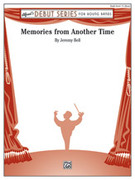 Cover icon of Memories from Another Time sheet music for concert band (full score) by Jeremy Bell