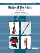 Cover icon of Dance of the Hours (COMPLETE) sheet music for full orchestra by Amilcare Ponchielli and Richard Meyer, intermediate