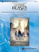 Cover icon of Fantastic Beasts and Where to Find Them sheet music for full orchestra (full score) by James Newton Howard and Patrick Roszell