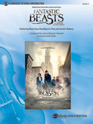 Cover icon of Fantastic Beasts and Where to Find Them sheet music for string orchestra (full score) by James Newton Howard and Bob Phillips, intermediate