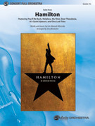 Cover icon of Hamilton, Suite from sheet music for full orchestra (full score) by Lin-Manuel Miranda, intermediate skill level