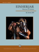 Cover icon of Einherjar sheet music for concert band (full score) by Jeremy Bell
