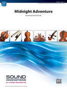 Cover icon of Midnight Adventure sheet music for string orchestra (full score) by Michael Kamuf, classical score, intermediate