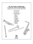 Cover icon of On the Pulse of Morning sheet music for band or orchestra (full score) by Mark Hayes and Maya Angelou, easy/intermediate