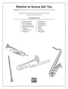 Cover icon of Rhythm Is Gonna Get You (COMPLETE) sheet music for band or orchestra by Gloria Estefan and Eric Van Cleave, easy/intermediate skill level