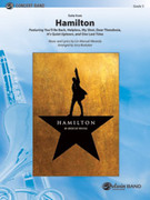 Cover icon of Hamilton, Suite from sheet music for concert band (full score) by Lin-Manuel Miranda and Jerry Brubaker