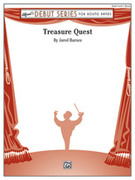 Cover icon of Treasure Quest sheet music for concert band (full score) by Jared Barnes
