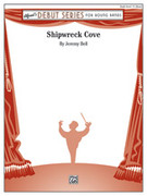 Cover icon of Shipwreck Cove sheet music for concert band (full score) by Jeremy Bell