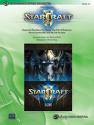 Cover icon of StarCraft II sheet music for string orchestra (full score) by Jason Hayes, intermediate