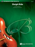 Cover icon of Sleigh Ride sheet music for string orchestra (full score) by Leopold Mozart, intermediate skill level