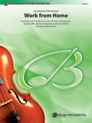 Cover icon of Work from Home (COMPLETE) sheet music for string orchestra by Brian Lee, Josh Coleman, Jude Demorest, Tyrone Griffin and Alexander Izquierdo