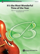 Cover icon of It's the Most Wonderful Time of the Year sheet music for string orchestra (full score) by Eddie Pola, intermediate