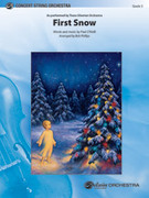 Cover icon of First Snow sheet music for string orchestra (full score) by Paul O'Neill, Trans-Siberian Orchestra and Bob Phillips