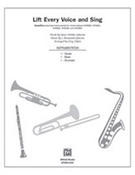 Cover icon of Lift Every Voice and Sing (COMPLETE) sheet music for band or orchestra by J. Rosamond Johnson, James Weldon Johnson and Greg Gilpin, easy/intermediate