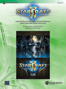 Cover icon of Starcraft II sheet music for concert band (full score) by Jason Hayes, Mike Patti and Michael Story