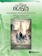 Cover icon of Suite from Fantastic Beasts and Where to Find Them sheet music for concert band (full score) by James Newton Howard, Patrick Roszell and John Williams