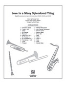 Cover icon of Love Is a Many Splendored Thing (COMPLETE) sheet music for band or orchestra by Sammy Fain, Paul Francis Webster and Mark Hayes