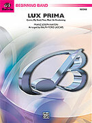 Cover icon of Lux Prima sheet music for concert band (full score) by Franz Joseph Haydn