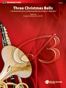 Cover icon of Three Christmas Bells sheet music for concert band (full score) by Anonymous and Michael Story
