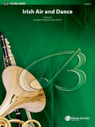 Cover icon of Irish Air and Dance (COMPLETE) sheet music for concert band by Anonymous and Michael Story