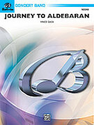 Cover icon of Journey to Aldebaran sheet music for concert band (full score) by Vince Gassi