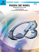 Cover icon of Roses de Noel (COMPLETE) sheet music for concert band by Emile Waldteufel
