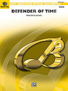 Cover icon of Defender of Time sheet music for string orchestra (full score) by Rob Grice