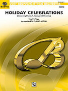 Cover icon of Holiday Celebrations sheet music for string orchestra (full score) by Anonymous and Bob Phillips