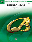 Cover icon of Prelude No. 20 (COMPLETE) sheet music for string orchestra by Frederic Chopin