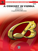 Cover icon of A Concert in Vienna sheet music for string orchestra (full score) by Anonymous and Victor Lopez, easy orchestra