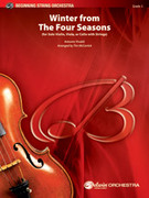 Cover icon of Winter from The Four Seasons sheet music for string orchestra (full score) by Antonio Vivaldi and Tim McCarrick, classical score, easy orchestra