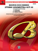 Cover icon of Belwin Beginning String Orchestra Kit #4 (COMPLETE) sheet music for string orchestra by Anonymous