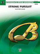 Cover icon of String Pursuit (COMPLETE) sheet music for string orchestra by Ralph Ford, easy/intermediate orchestra