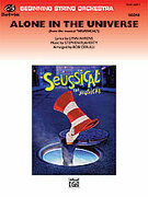 Cover icon of Alone in the Universe sheet music for string orchestra (full score) by Stephen Flaherty