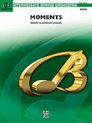 Cover icon of Moments sheet music for string orchestra (full score) by Robert D. Gardner