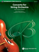 Cover icon of Concerto for String Orchestra sheet music for string orchestra (full score) by Georg Philipp Telemann and Tim McCarrick