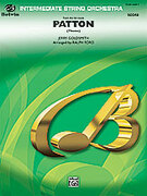Cover icon of Patton sheet music for string orchestra (full score) by Jerry Goldsmith