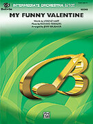 Cover icon of My Funny Valentine (COMPLETE) sheet music for full orchestra by Richard Rodgers