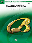 Cover icon of Guantanamera sheet music for full orchestra (full score) by Anonymous and Victor Lopez