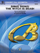 Cover icon of Variations on Ding! Dong! The Witch Is Dead! sheet music for full orchestra (full score) by Harold Arlen