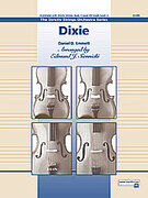 Cover icon of Dixie sheet music for string orchestra (full score) by Anonymous and Edmund J. Siennicki