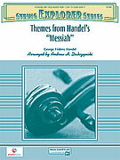 Cover icon of Themes from Handel's Messiah sheet music for string orchestra (full score) by George Frideric Handel