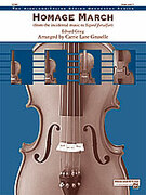 Cover icon of Homage March (COMPLETE) sheet music for string orchestra by Edward Grieg and Edward Grieg, classical score, easy/intermediate