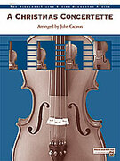Cover icon of A Christmas Concertette (COMPLETE) sheet music for string orchestra by Anonymous and John Cacavas, easy/intermediate