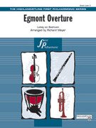 Cover icon of Egmont Overture sheet music for full orchestra (full score) by Richard Meyer