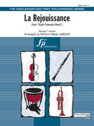 Cover icon of La Rejouissance (COMPLETE) sheet music for full orchestra by George Frideric Handel