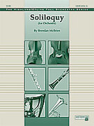 Cover icon of Soliloquy for Orchestra (COMPLETE) sheet music for full orchestra by Brendan McBrien, intermediate