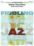 Cover icon of Hotter Than Blues (COMPLETE) sheet music for string orchestra by Julie Lyonn Lieberman, intermediate orchestra