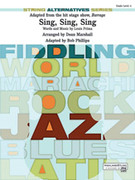 Cover icon of Sing, Sing, Sing sheet music for string orchestra (full score) by Louis Prima, Dean Marshall and Bob Phillips