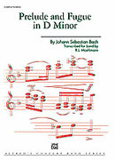 Cover icon of Prelude and Fugue in D minor (COMPLETE) sheet music for concert band by Johann Sebastian Bach